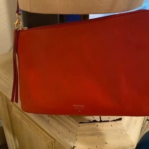 Fossil Red Shoulder bag